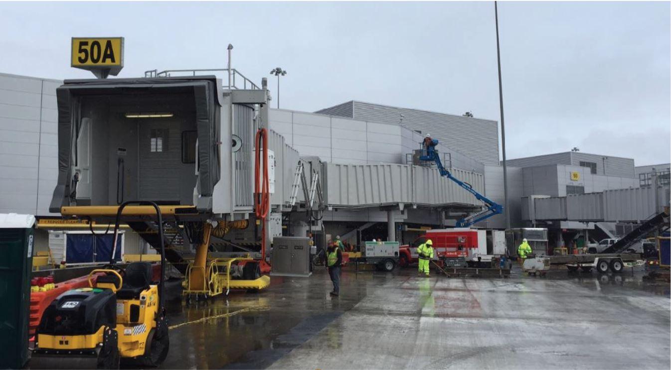 SFO Terminal 2, 15th Gate Renovation