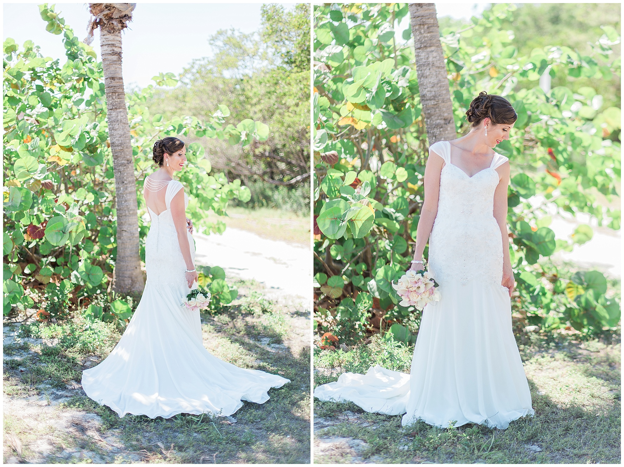 key west wedding- smathers beach- key west bride