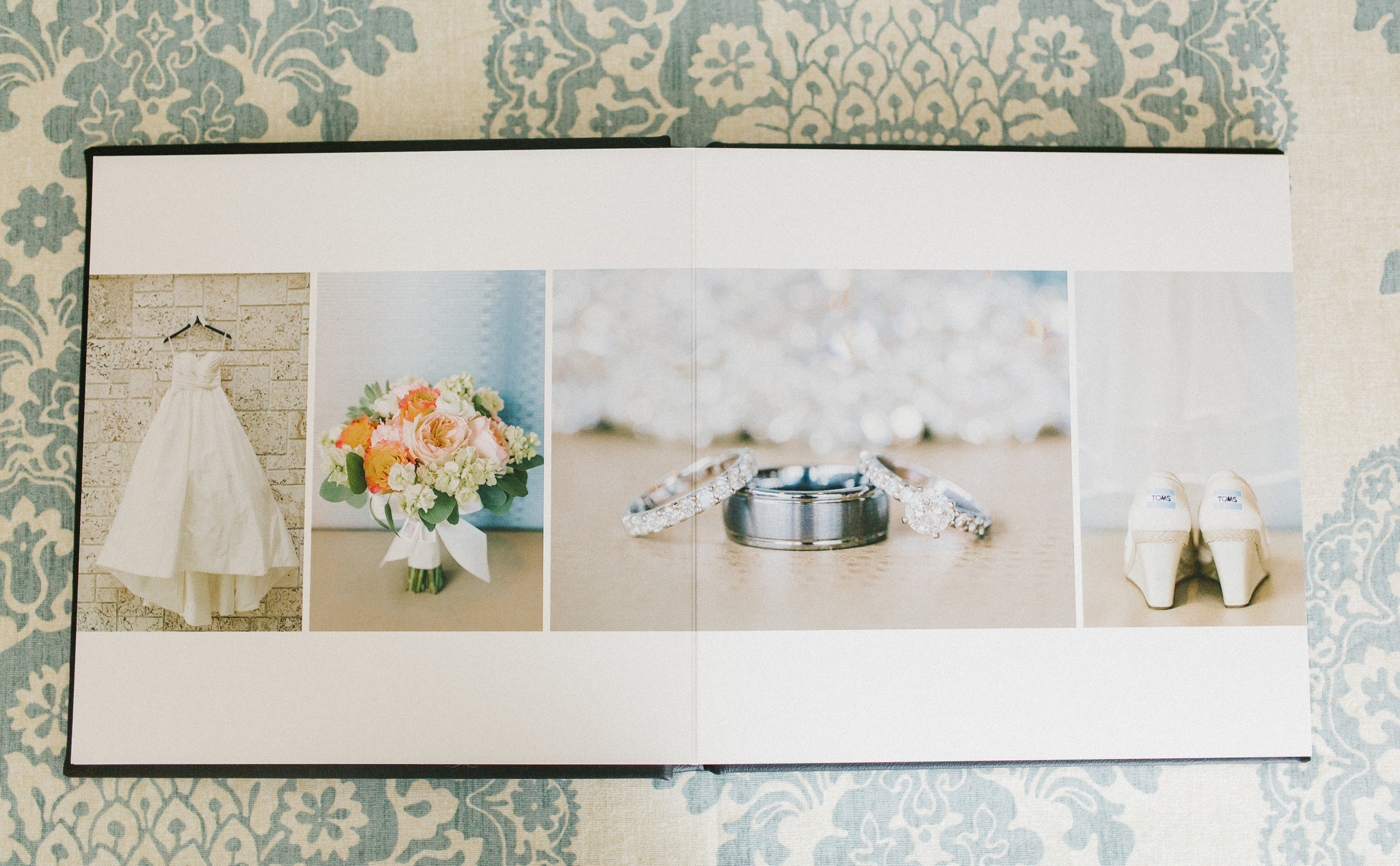 The feel of the Classic Felt is AMAZING, but it also comes in standard (shiny) photographic paper as well.