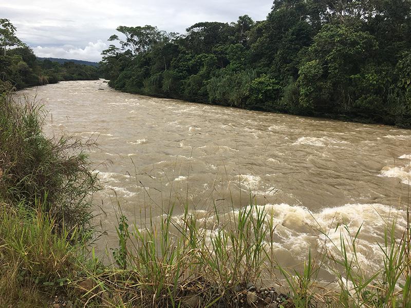Flooding Misahualli