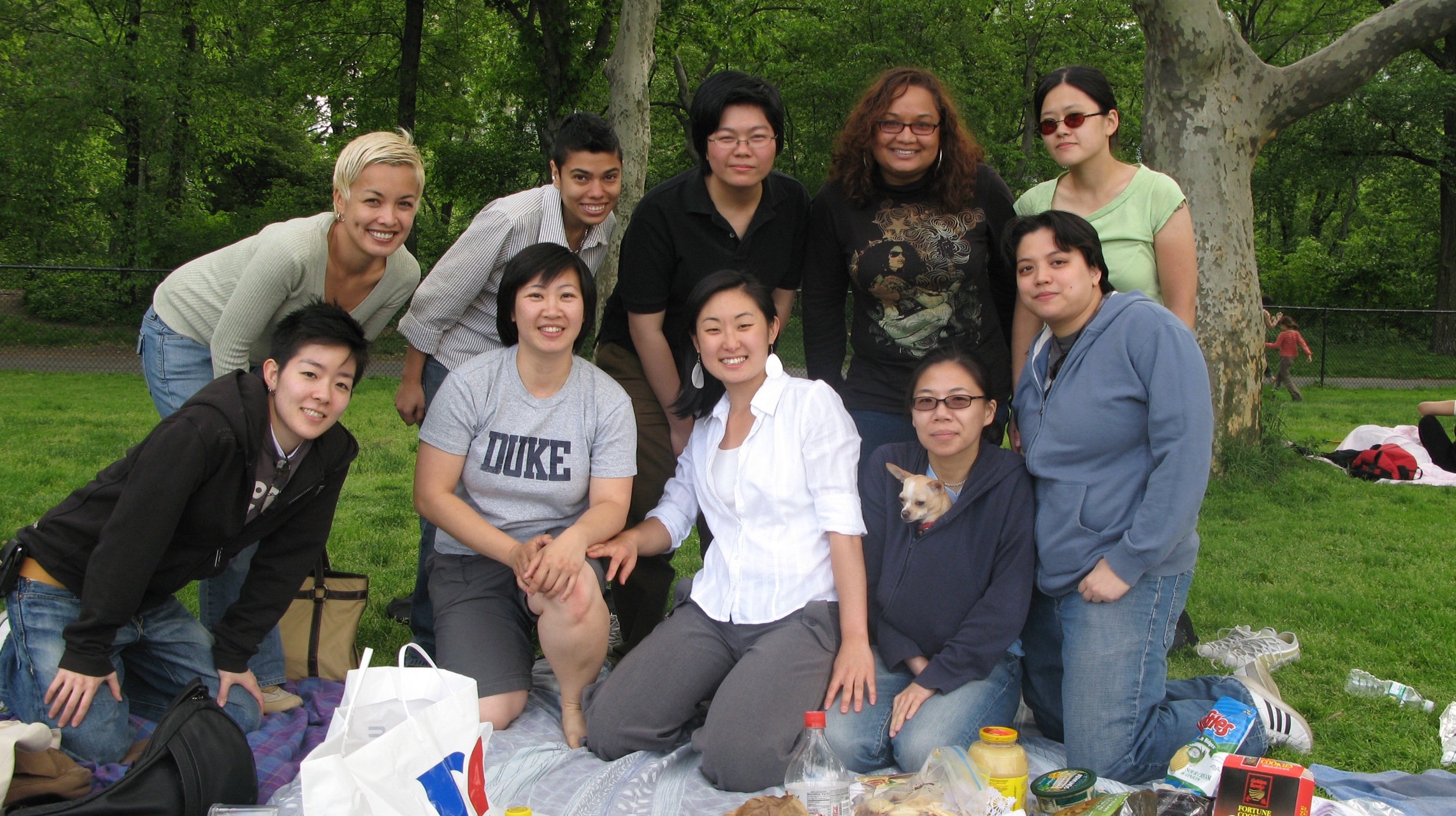 Q-Wavers in Central Park