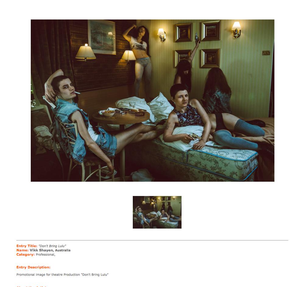 PX3 Prix de la photographie paris 2013 - Professional Category: Honorable Mention.png