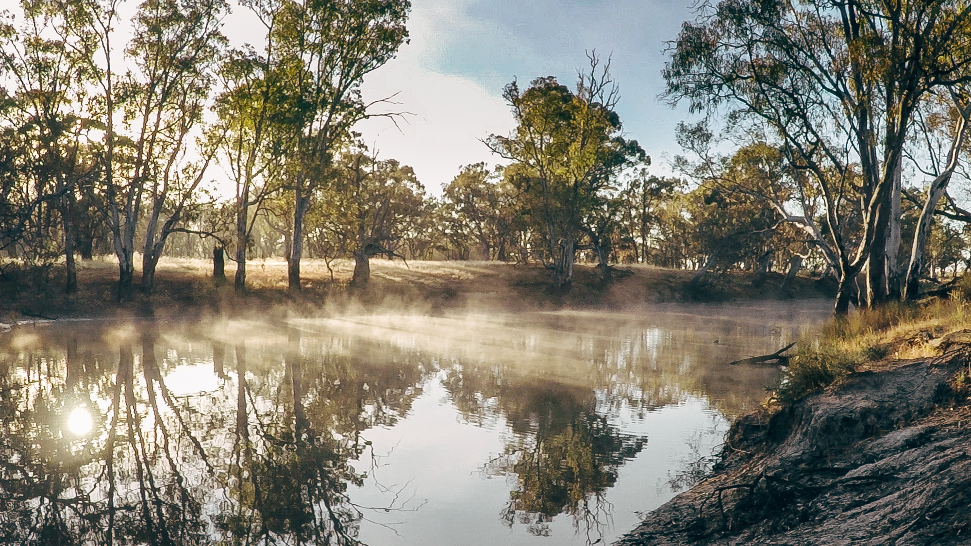 Sunrise on the Wimmera River 2017