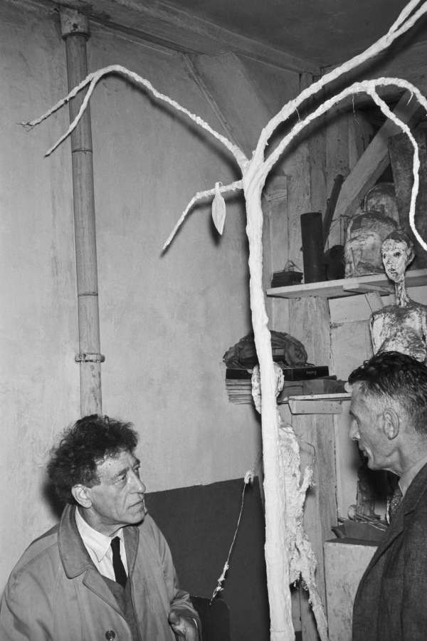 Alberto Giacometti - One of the greatest sculptors of the 20th century, little did I know he did quite a few paintings throughout his lives, including some of his mistress, Caroline, at late nights.He grew up in a Swiss alpine village and a child of a post-impressionist painter. Growing up in an artistic family, he has no problem accessing works of art or materials where he started engaging with moments as cubism and surrealism.