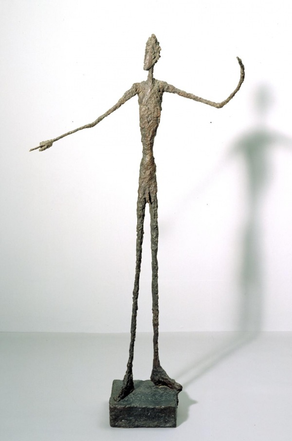 Stillness - I like the way how these stick figure-like sculptures capture movement as well as stillness at the same time. When you look at them, it's almost like they're telling you something but without a face or emotion, further drawing the alienation notion from this works, speaking without actually speaking.