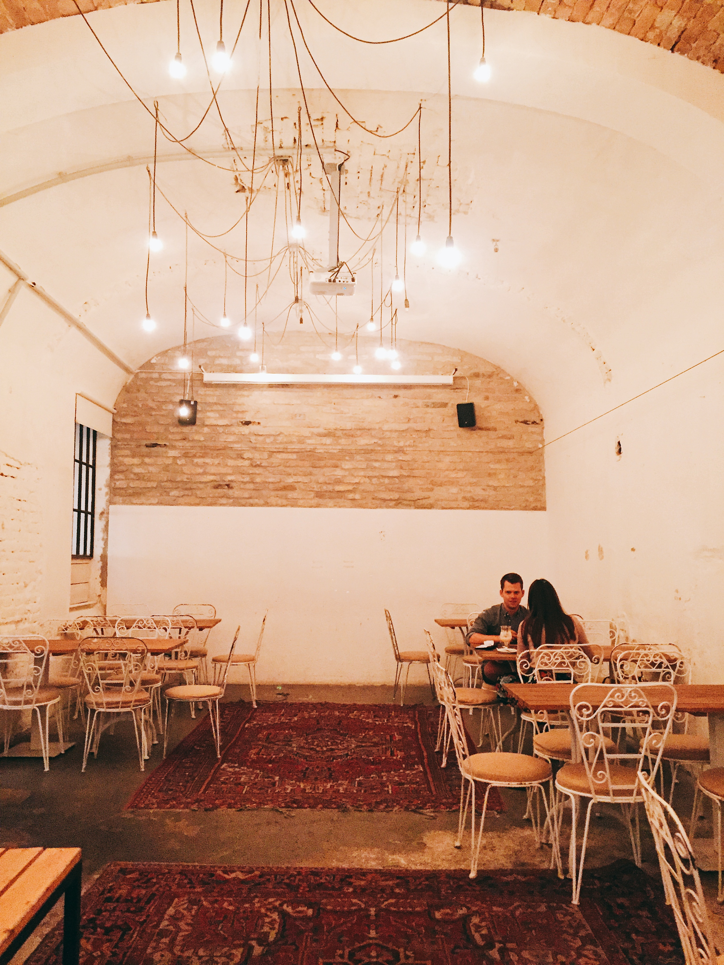 Mazel Tov - I've never really had a proper Jewish/Israeli meal before, so this was probably a first for me and it did not disappoint. Great vibes, good live music (cute singer with a Ed Sheeran kinda vibe), on point interior and BEST.HUMMUS.EVER!