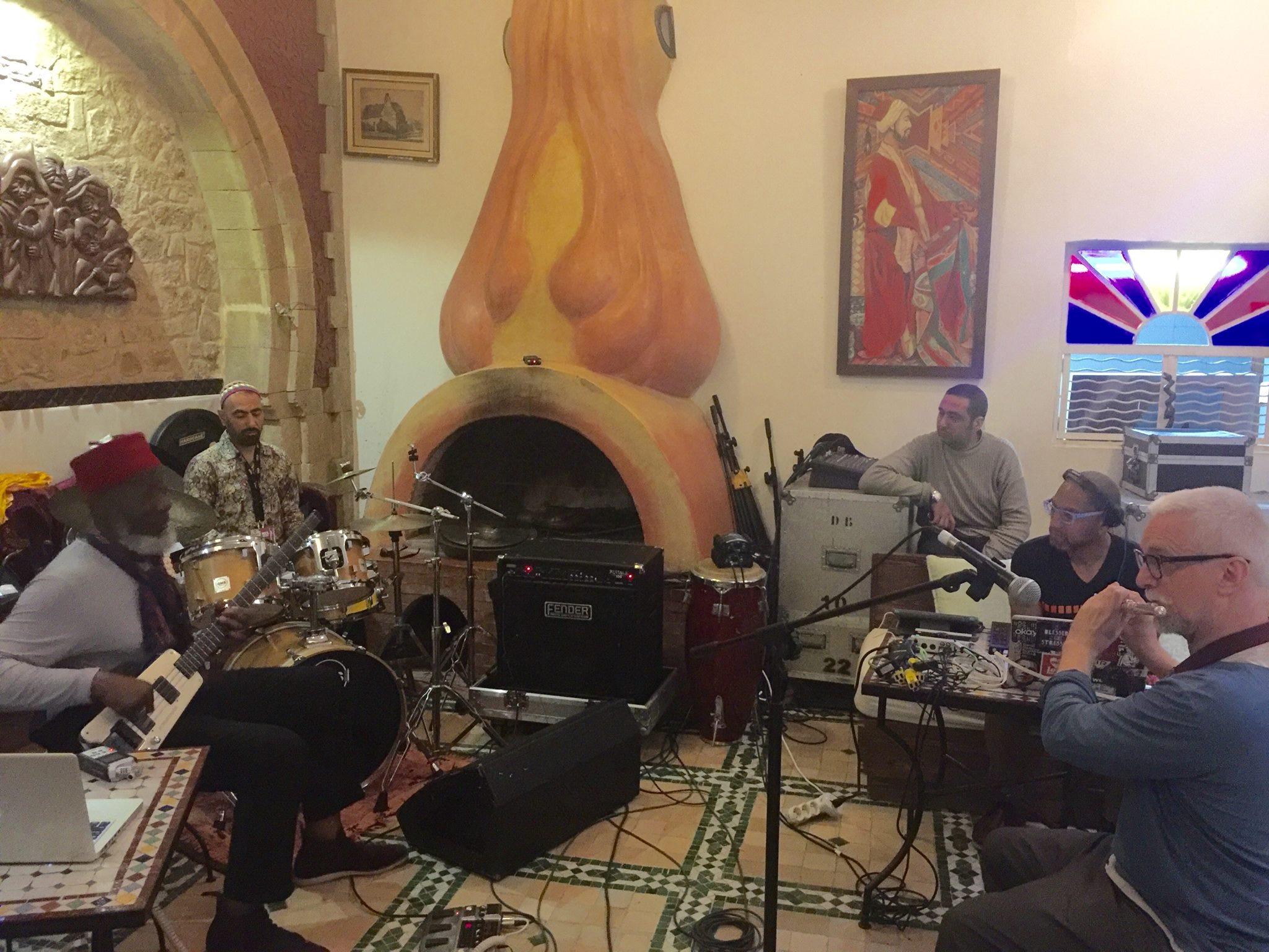 Rehearsal w/ Jamaaladeen in Morocco
