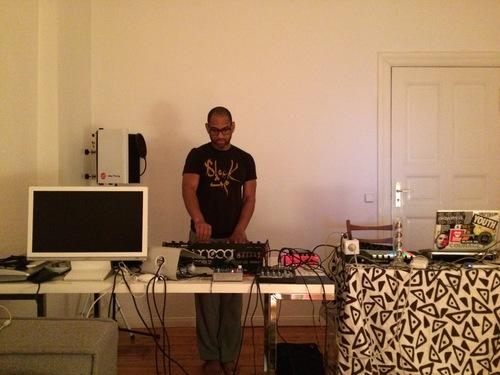 King in Clara's studio