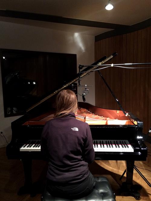 Clara at Jazzanova Studio