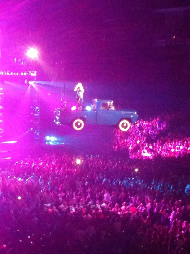 Carrie Underwood, Stockton Arena