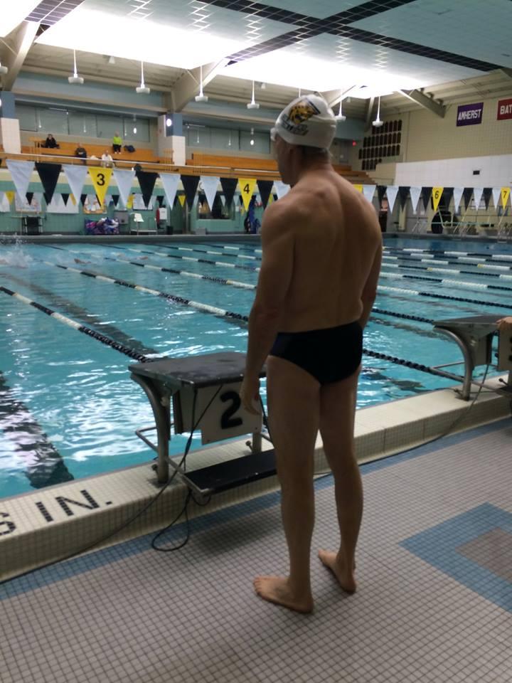 Rob Schiller preparing for his race