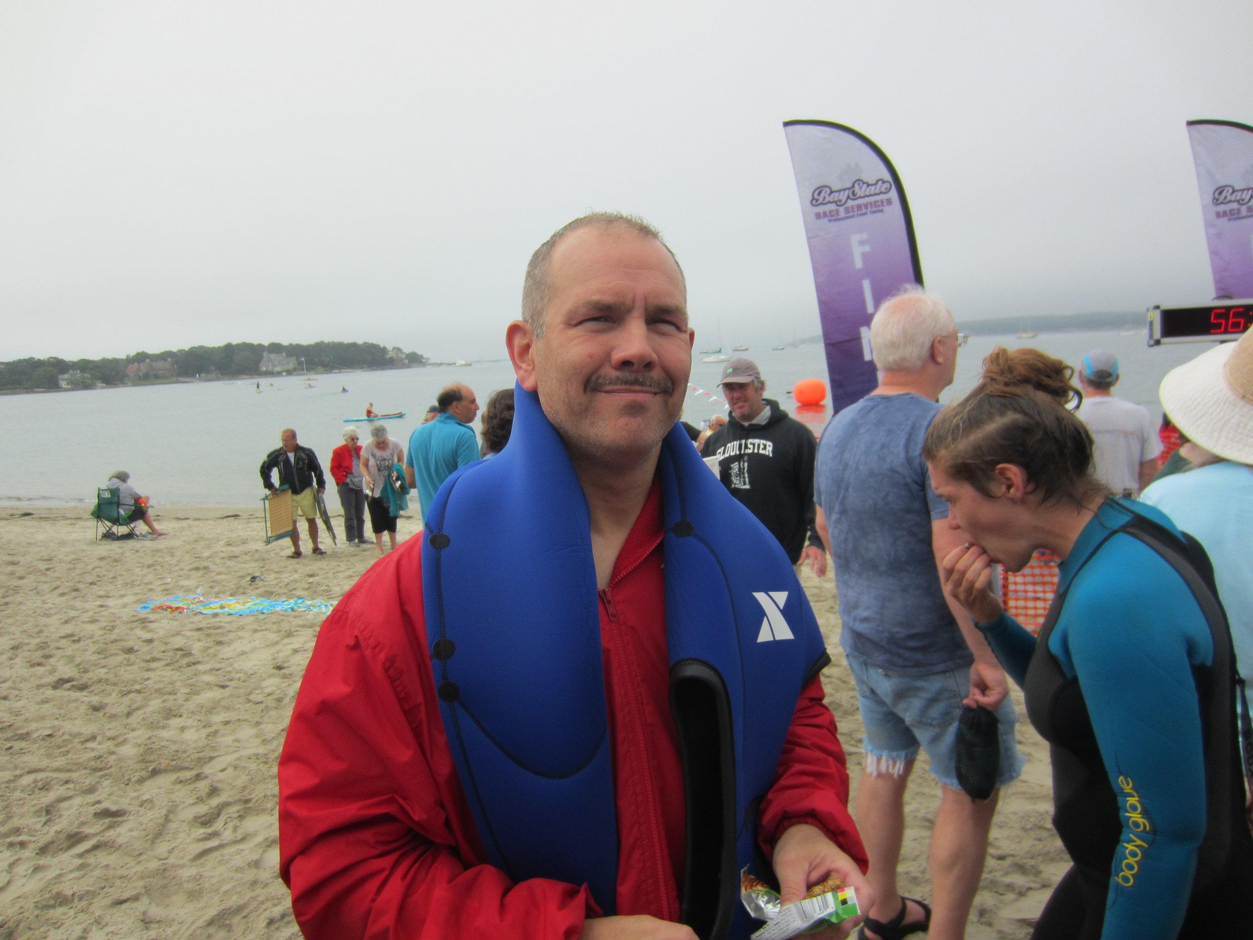 NE LMSC Treasurer and ANA swimmer Al Prescott