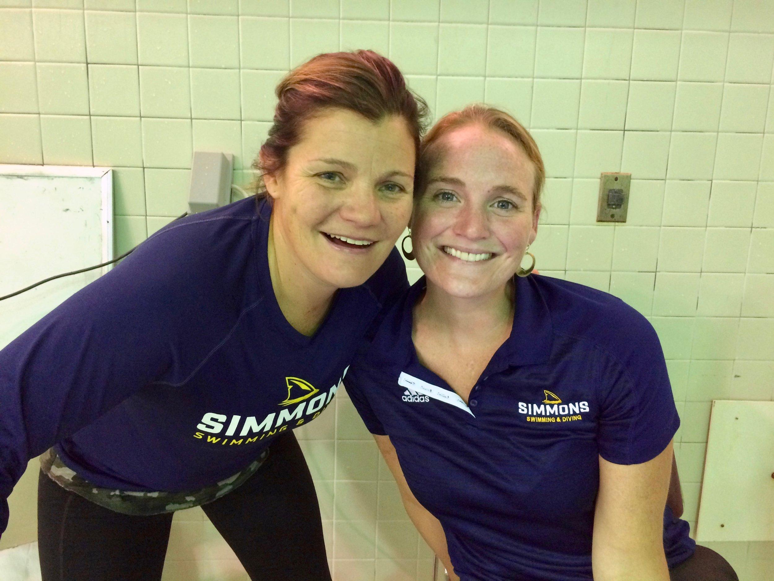 Christina Baudis and Mindy Williams ran a flawless meet