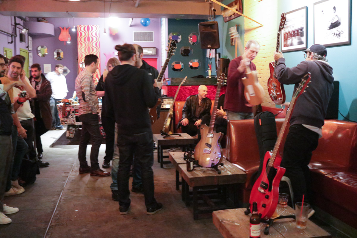 Fifteen Koll guitars in one room. That's a lot for us!