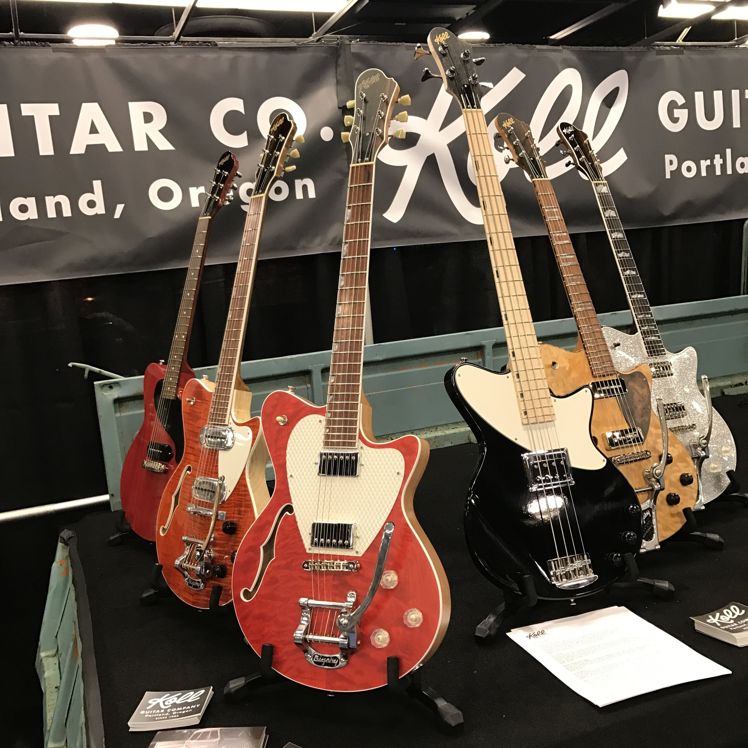 More new guitars... and a black Thunder Glide bass