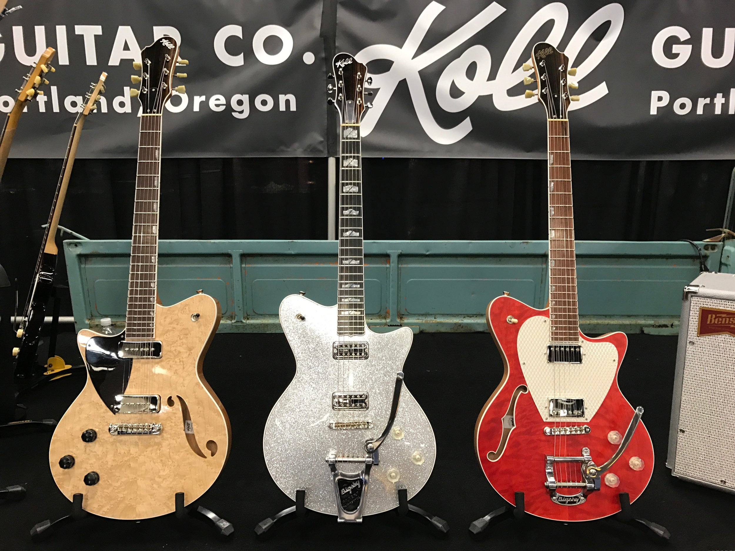 Lefty Duo Glide, Sparkle Top Super, Red Duo Glide