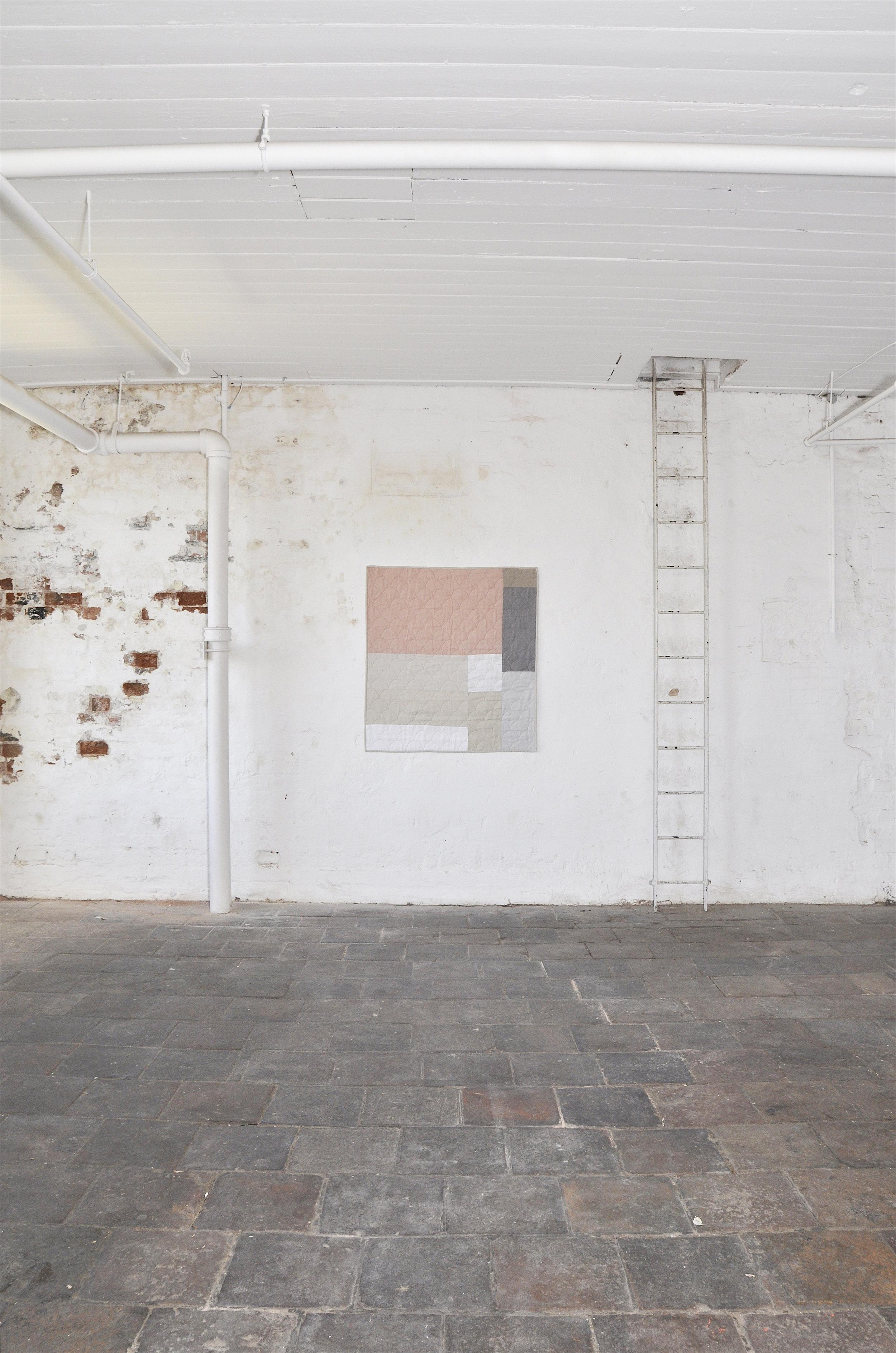 Irish Linen Contemporary Quilt Katie Larmour