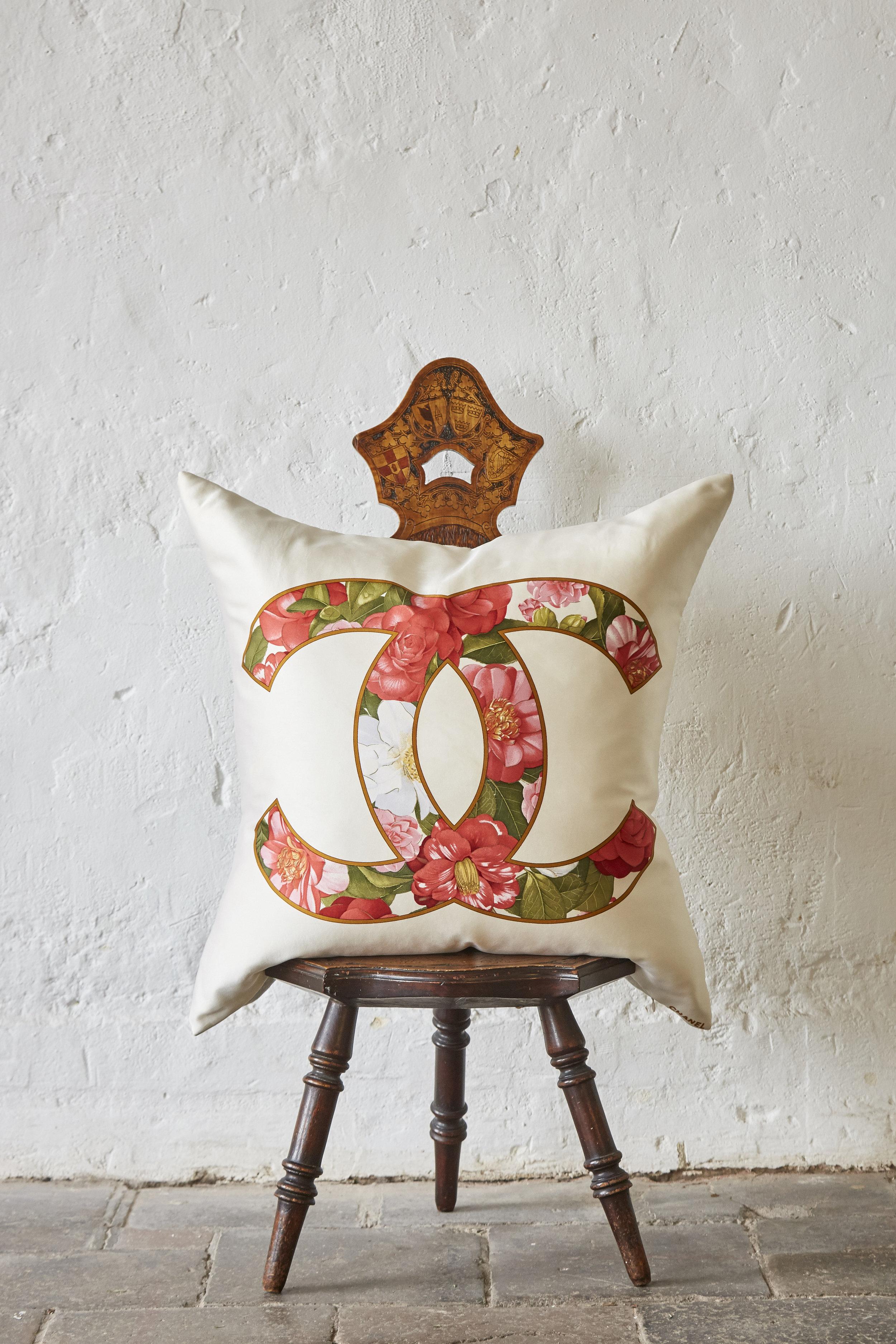 Katie Larmour Design Irish Linen Couture Cushions Bespoke Pillows Luxury Vintage Silk Scarf and Irish Linen.jpg