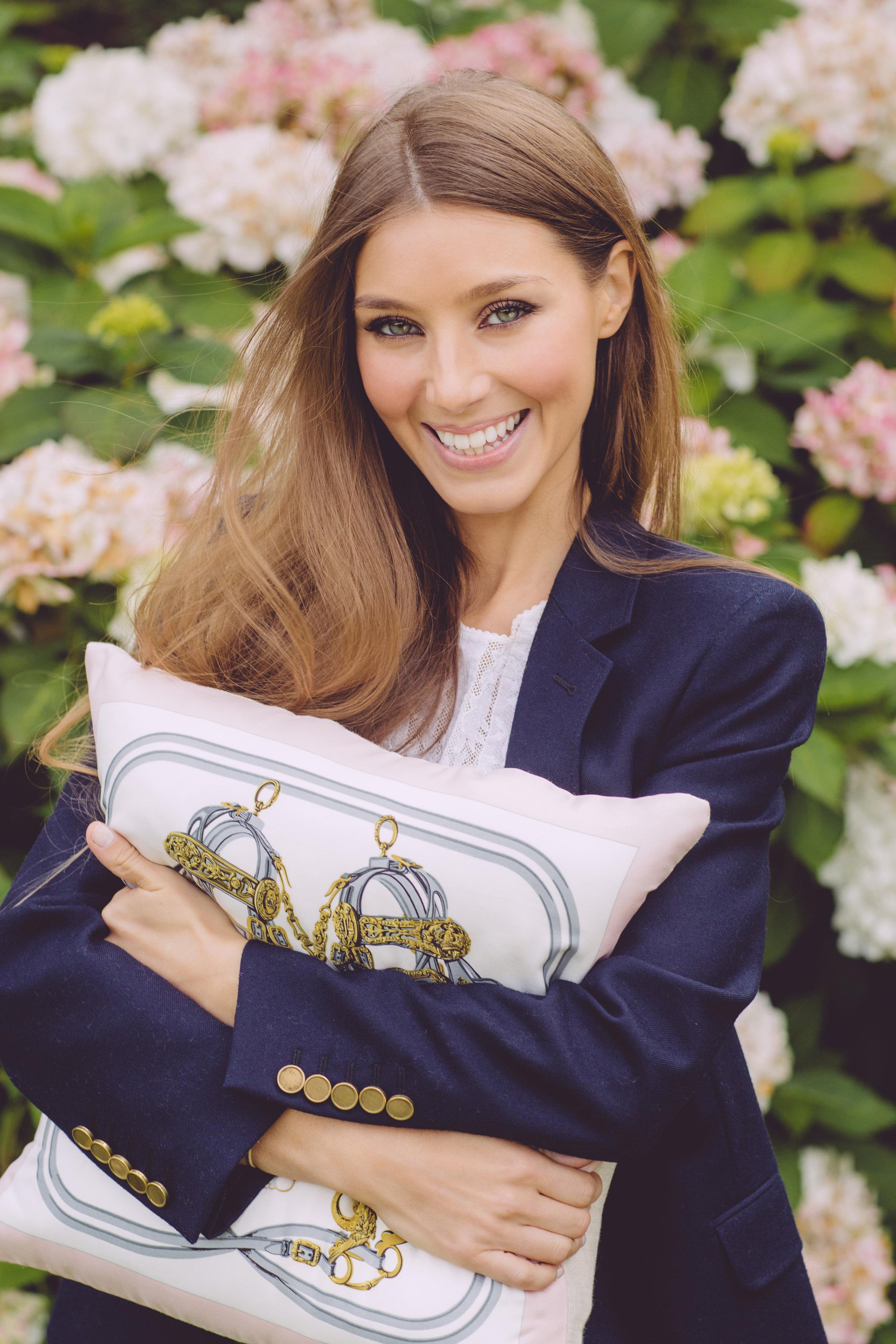 Northern Irish Designer Katie Larmour Luxury Couture Cushions Irish Linen Bespoke Pillows Luxury Vintage Silk Scarf.jpg