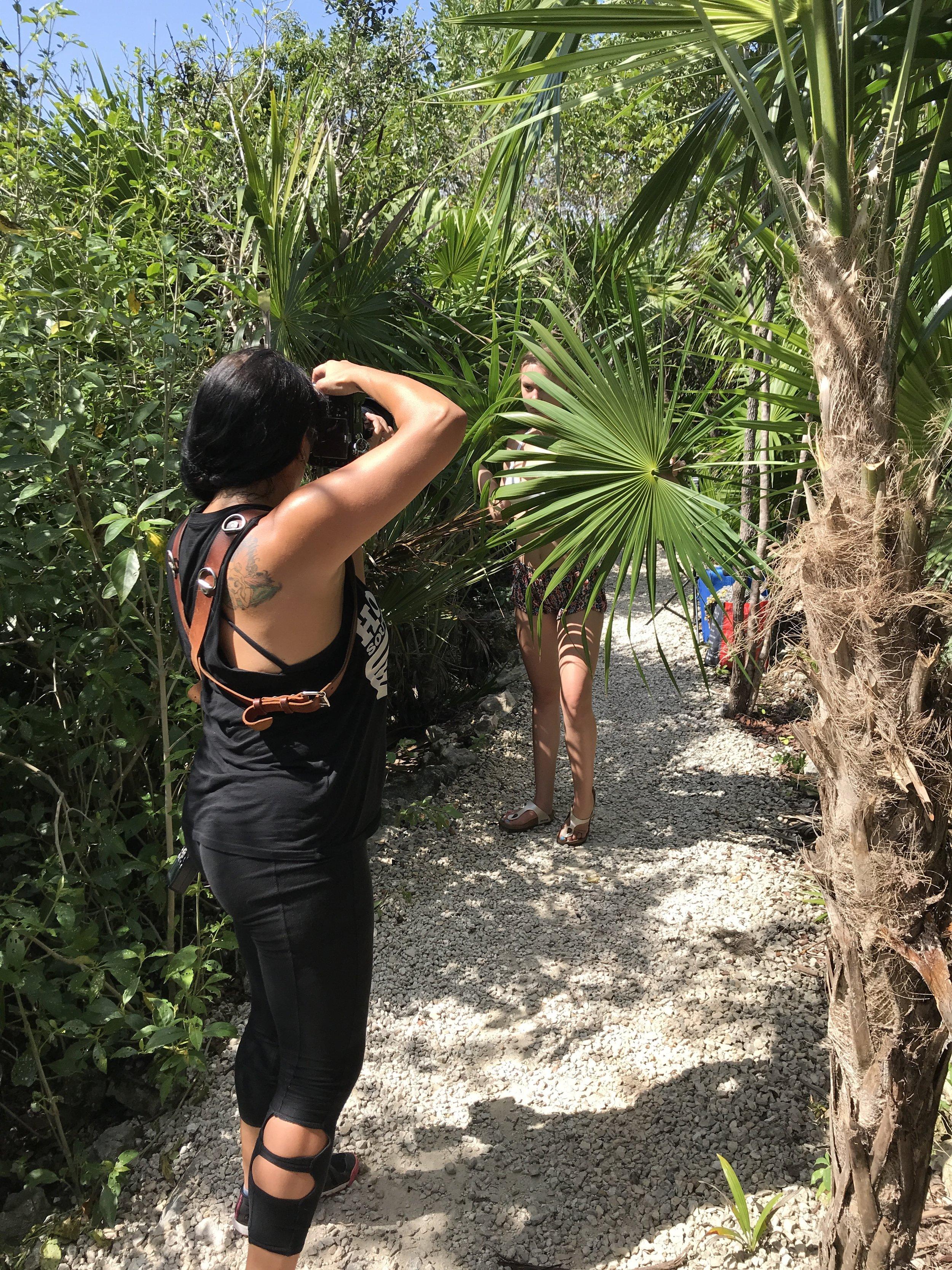 FASHION PORTRAIT SHOOT IN  PUERTO AVENTURAS , MEXICO