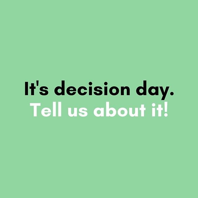 Happy College Decision Day! Where did you decide to go? ? Some colleges have decided to push their decision dates to June 1st to give families more time to come together and make an educated decision. Make sure you're aware of when your decision date is. ⁠ · ⁠ · ⁠ · ⁠ · ⁠ · ⁠ · ⁠ · ⁠ #collegedecisionday #may1st #collegelife #university #education #collegebound #studentlife #motivation #highschool #graduation #collegedreams #graduate #collegegoals #photooftheday