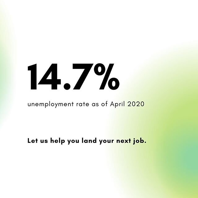 With the unemployment rate at an all-time high, it's important to plan for the future. Whether you're changing careers due to the pandemic or because you had a change of heart, let Prepory help. Learn more about our career coaching program, Sprout, by visiting our website. ⁠ ⁠