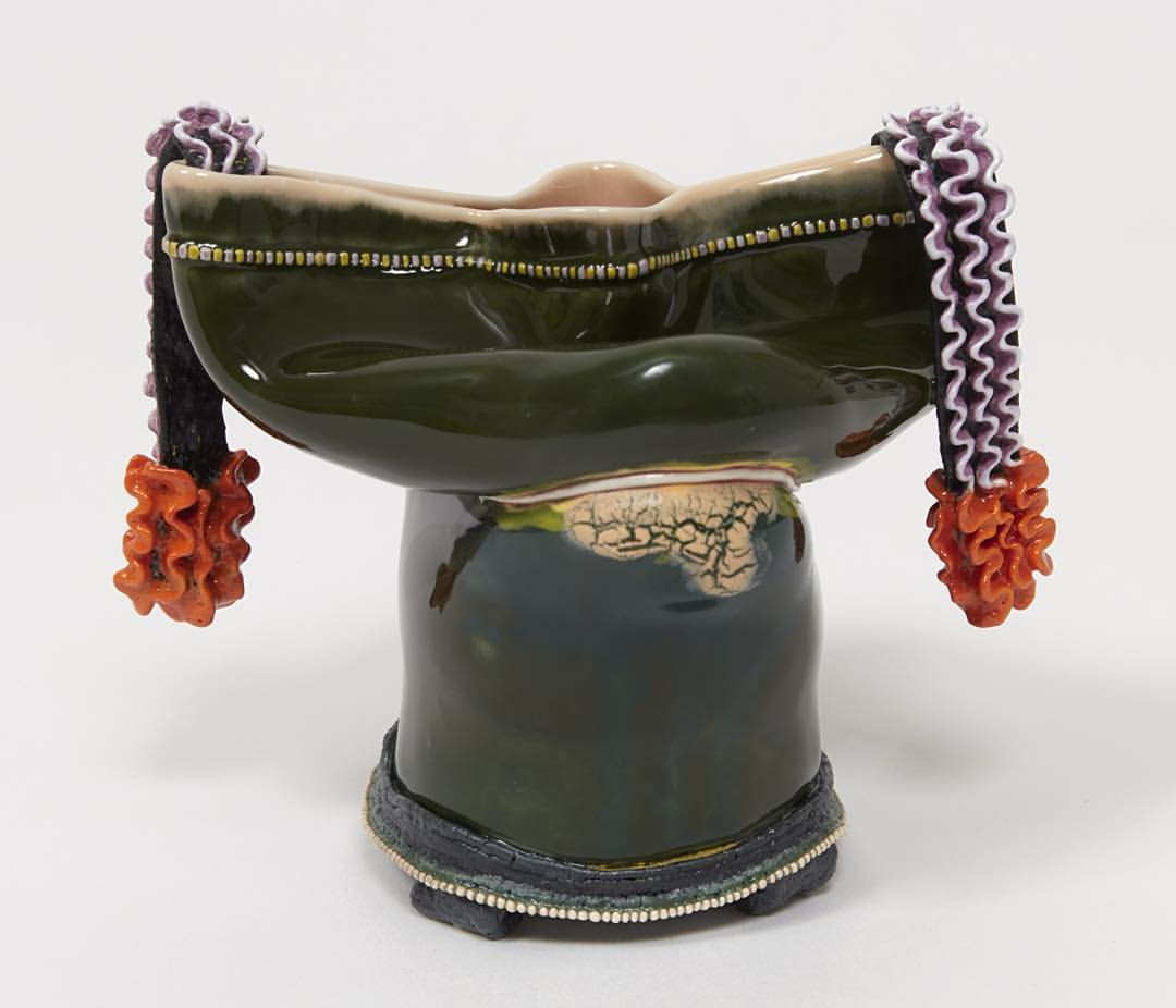 "Kathy Butterly -""The Weight of Color"" featured in @latimes Critic's Choice by Leah Ollman! #shoshanawayne #shoshanawaynegallery #contemporaryart #art #ceramics #latimes #review"