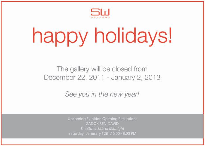 Cheers to a great holiday season and a happy new year!