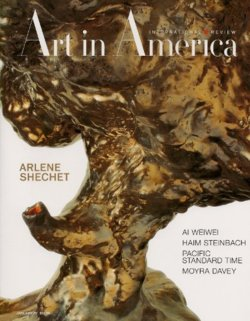 """ARLENE SHECHET   January 2012 issue of  Art in America     """"Buckle and Flow"""" by Faye Hirsch"""