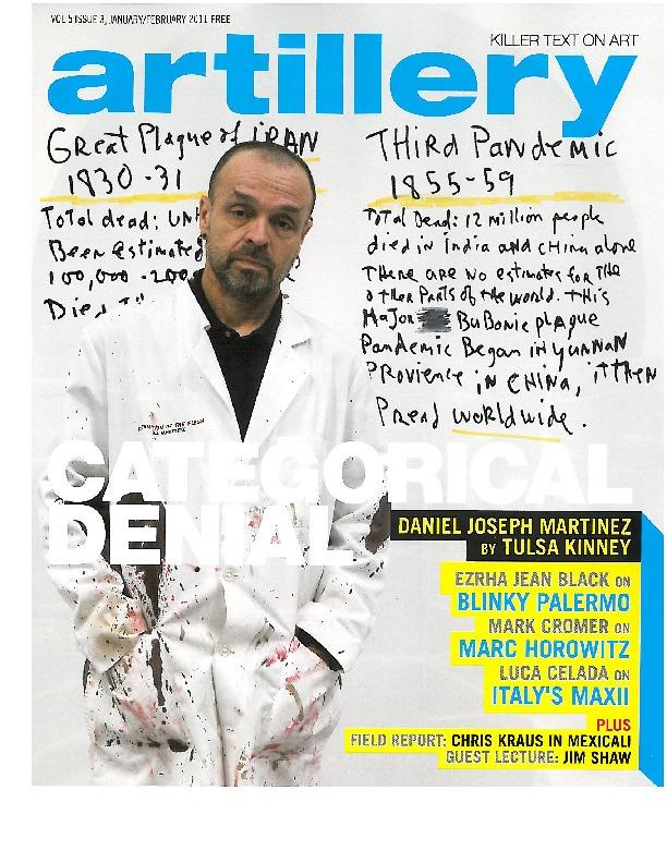 RACHEL LACHOWICZ Review / Artillery Magazine Jan/Feb 2011