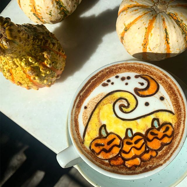 Happy Halloween! Take a photo with your costume or wearing orange and black. Tag #BBCMCAFE and receive a free latte! Winner with the best costume  will receive a $100 gift card!