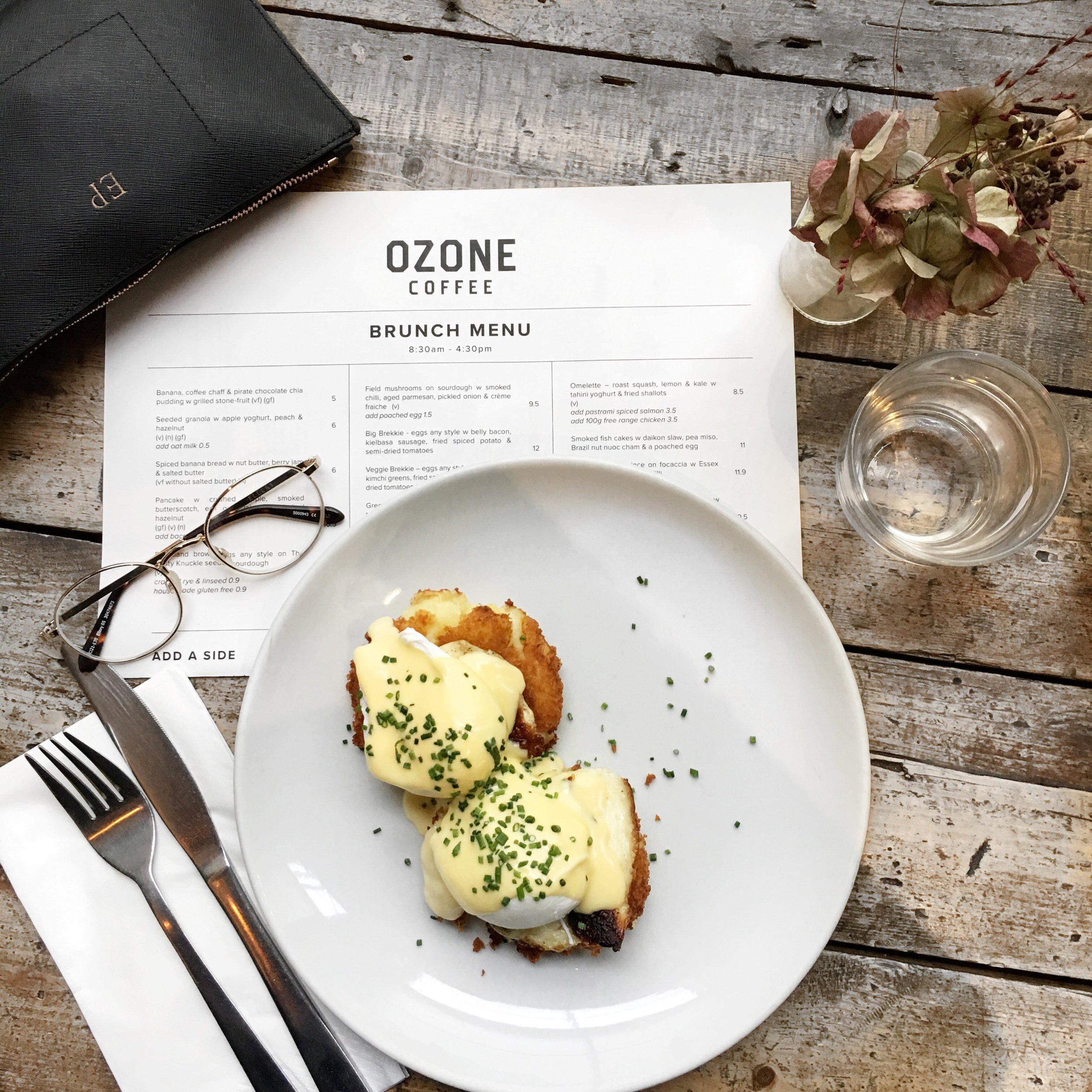 ozone coffee best london brunch