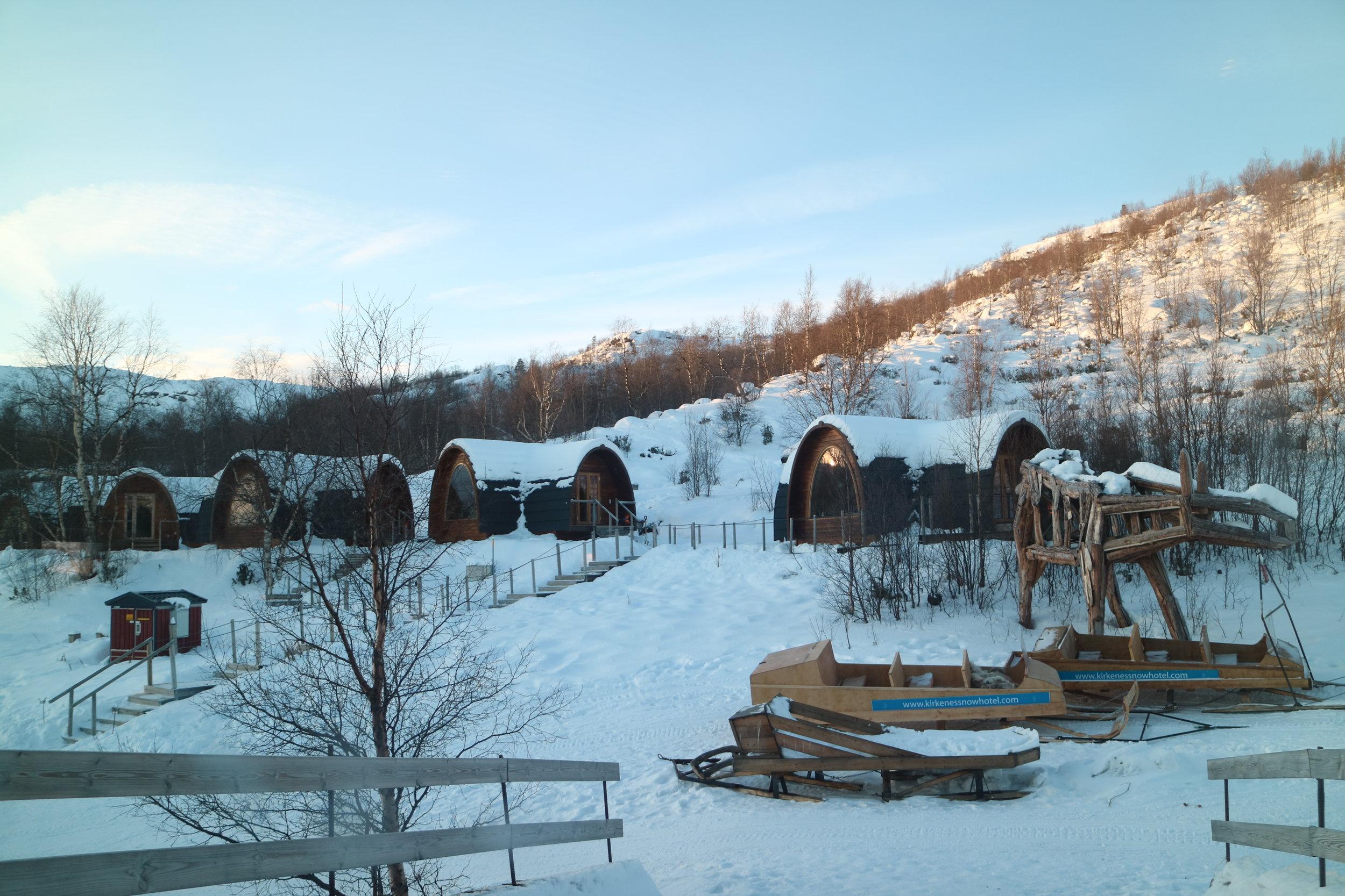 kirkenes snow hotel review