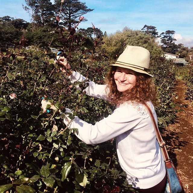 Such a great day spent with this special lady. Love you mom! #mothersday #mom #bestmom #rosepicking #capetown
