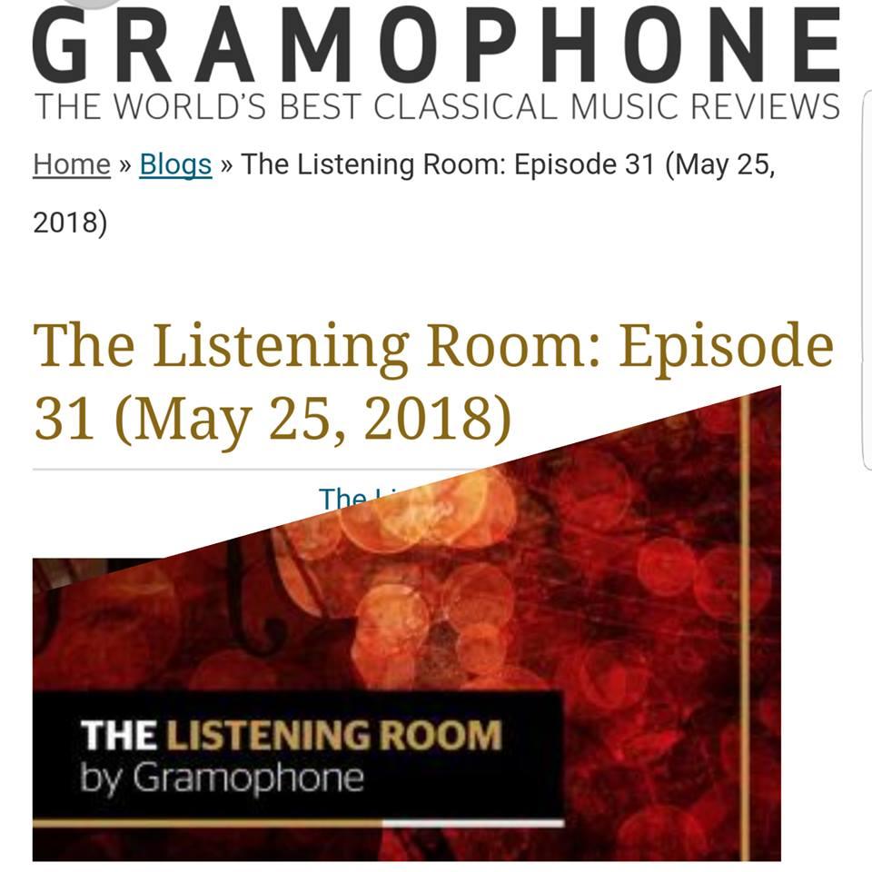 GramophoneThe Listening Room: Episode 31 - James Jolly reviews Rebeca's African CD:
