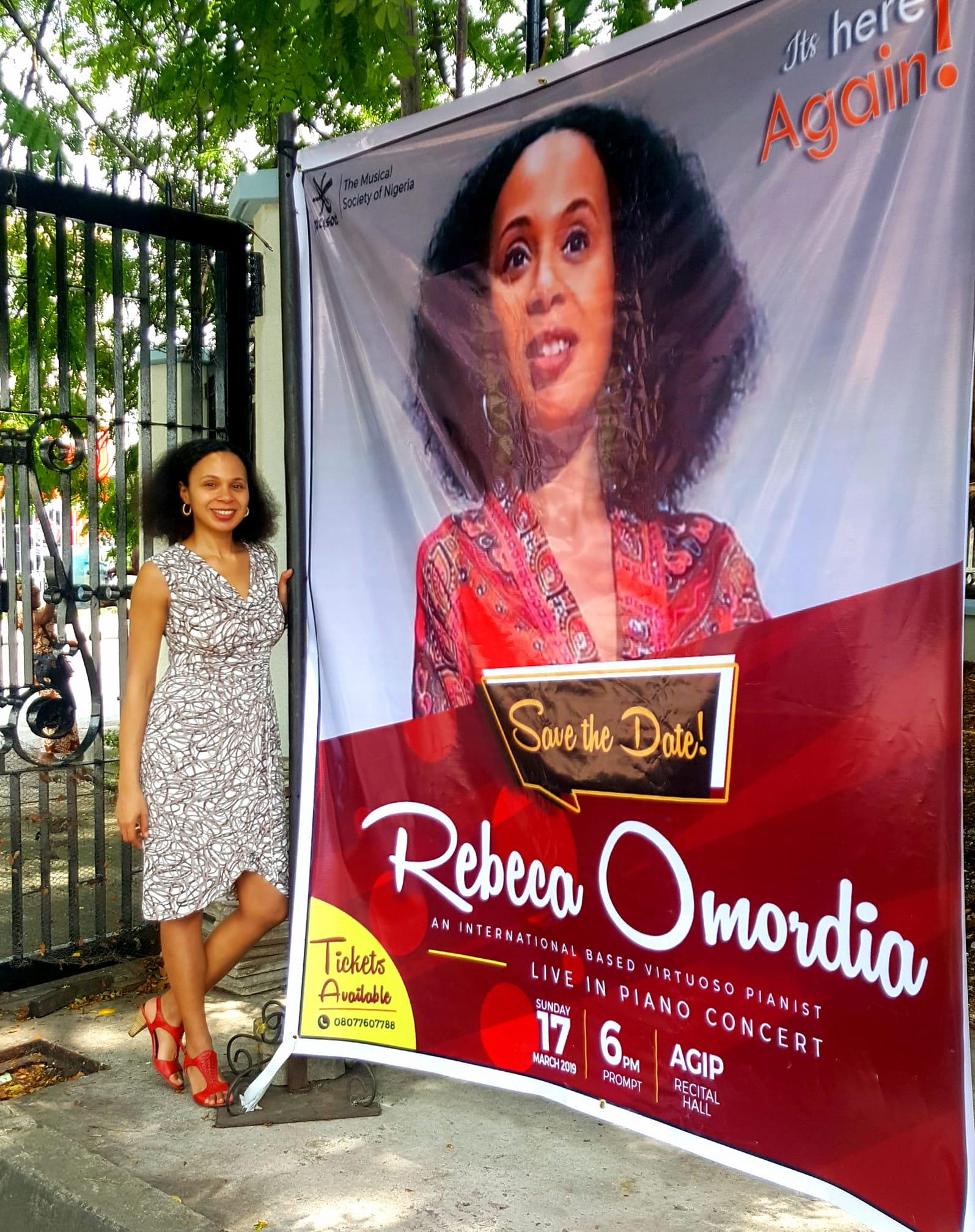 Rebeca Omordia at MUSON