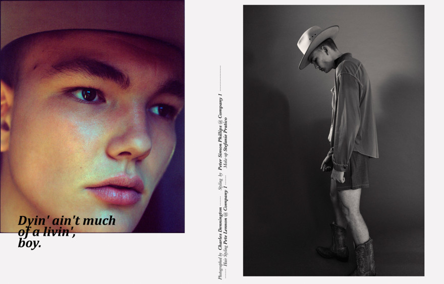 Prada   knit, shirt and shorts, Akubra hat from a selection at   The Strand Hatters  ,  Route 66   lanyard, belt and boots