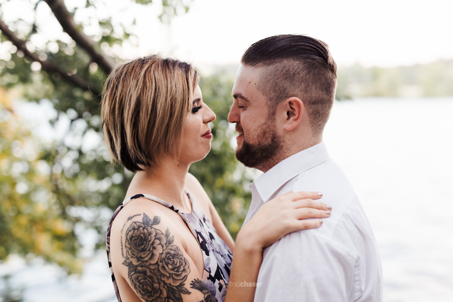Lake Burley Griffin Engagement