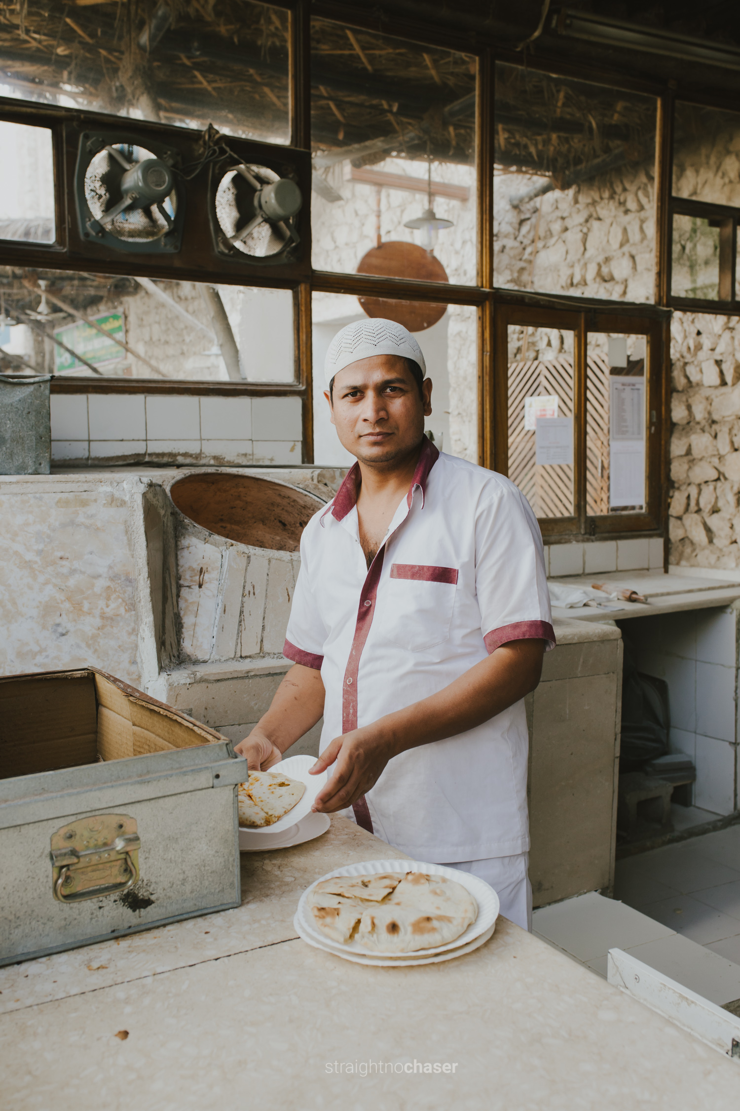 Bread shop: Street Food in Souq Waqif Doha, Qatar