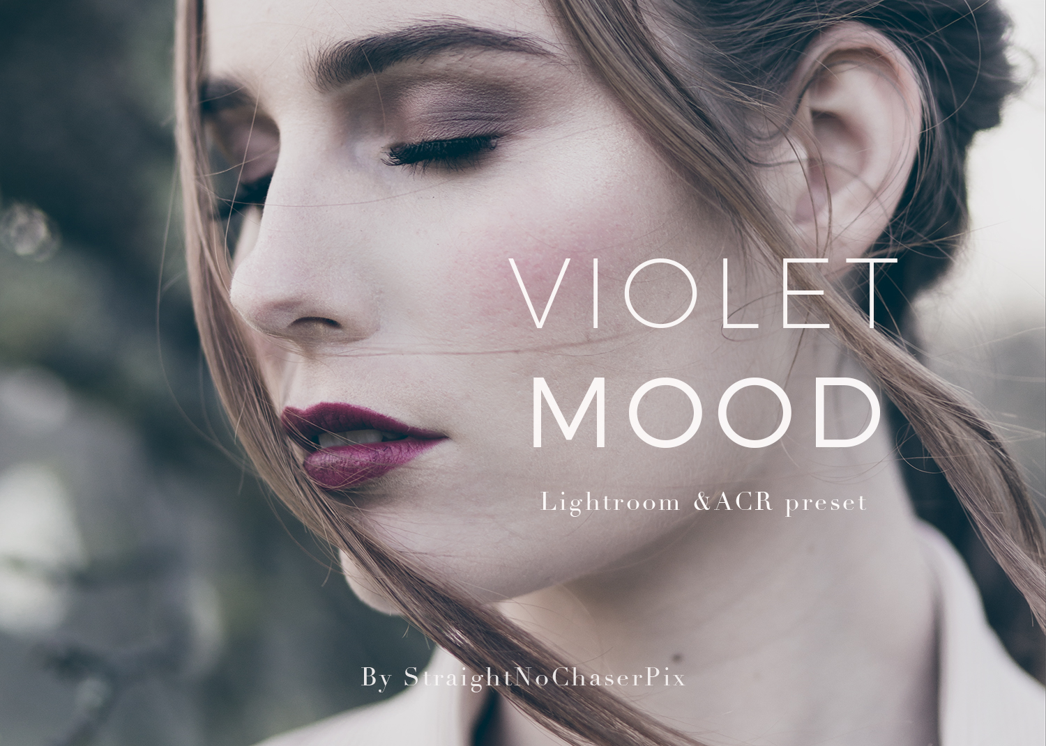 Violet Mood - A new Lightroom and ACR Preset from SNC