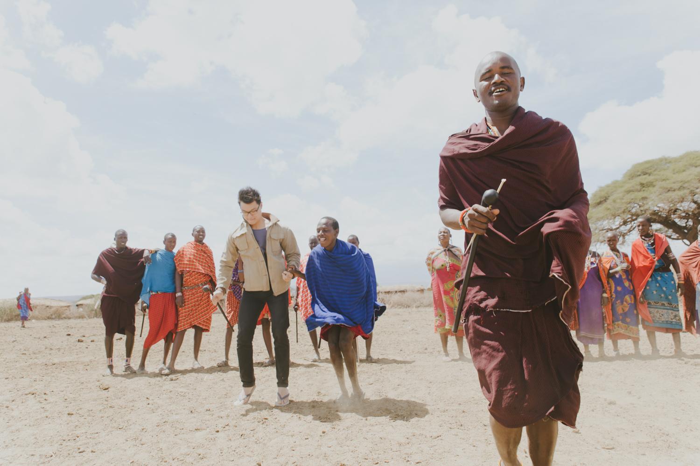 Kenya safari diary: Masai Villagers in Amboseli National Park