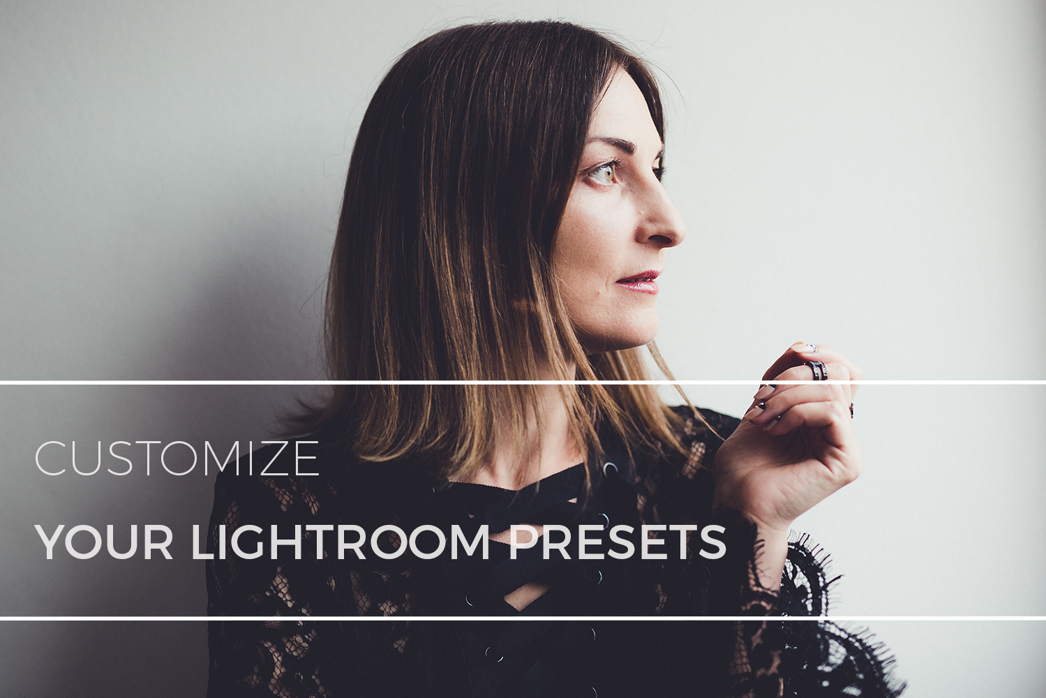 Using Lightroom Preset Part 2: Customizing Contrast, Fading, and skin tones