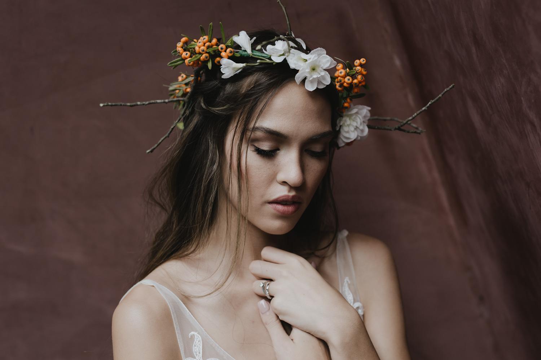 Boho Bridal shoot- model Sinead Carpenter photographer Jenny Wu