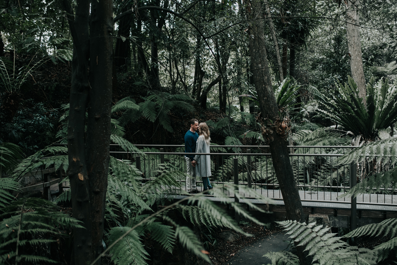 Canberra Rainforest Botanical Gardens Engagement Session