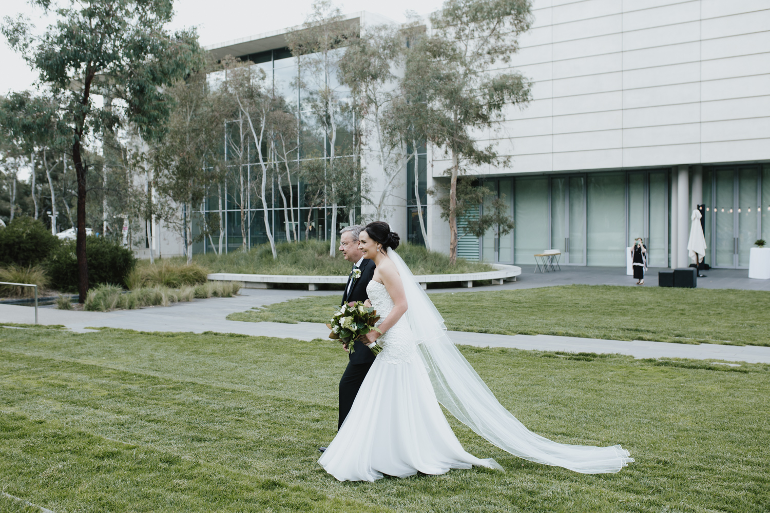 Australian Terrace / National Gallery of Australia wedding Canberra, photography by Jenny Wu Straight No Chaser