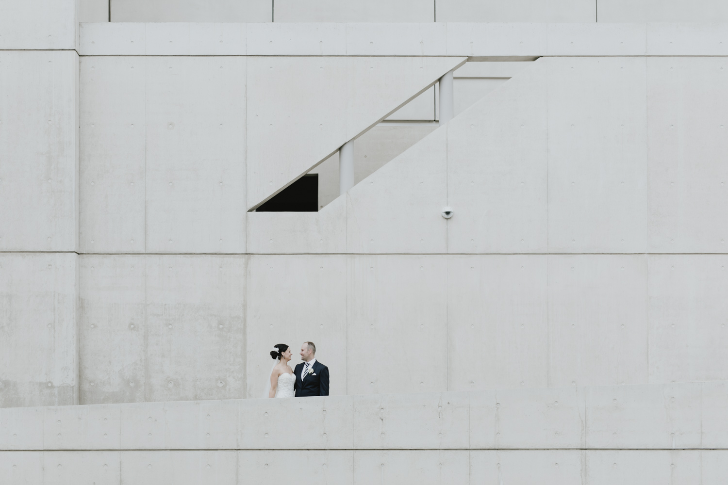 Skyspace Bridal Portraits, National Gallery of Australia Wedding photography by Jenny Wu Straight No Chaser
