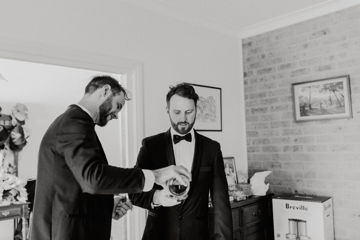 Groom Getting Ready / Fitters' Workshop Wedding Canberra : Photography by Jenny Wu Straight No Chaser Photography