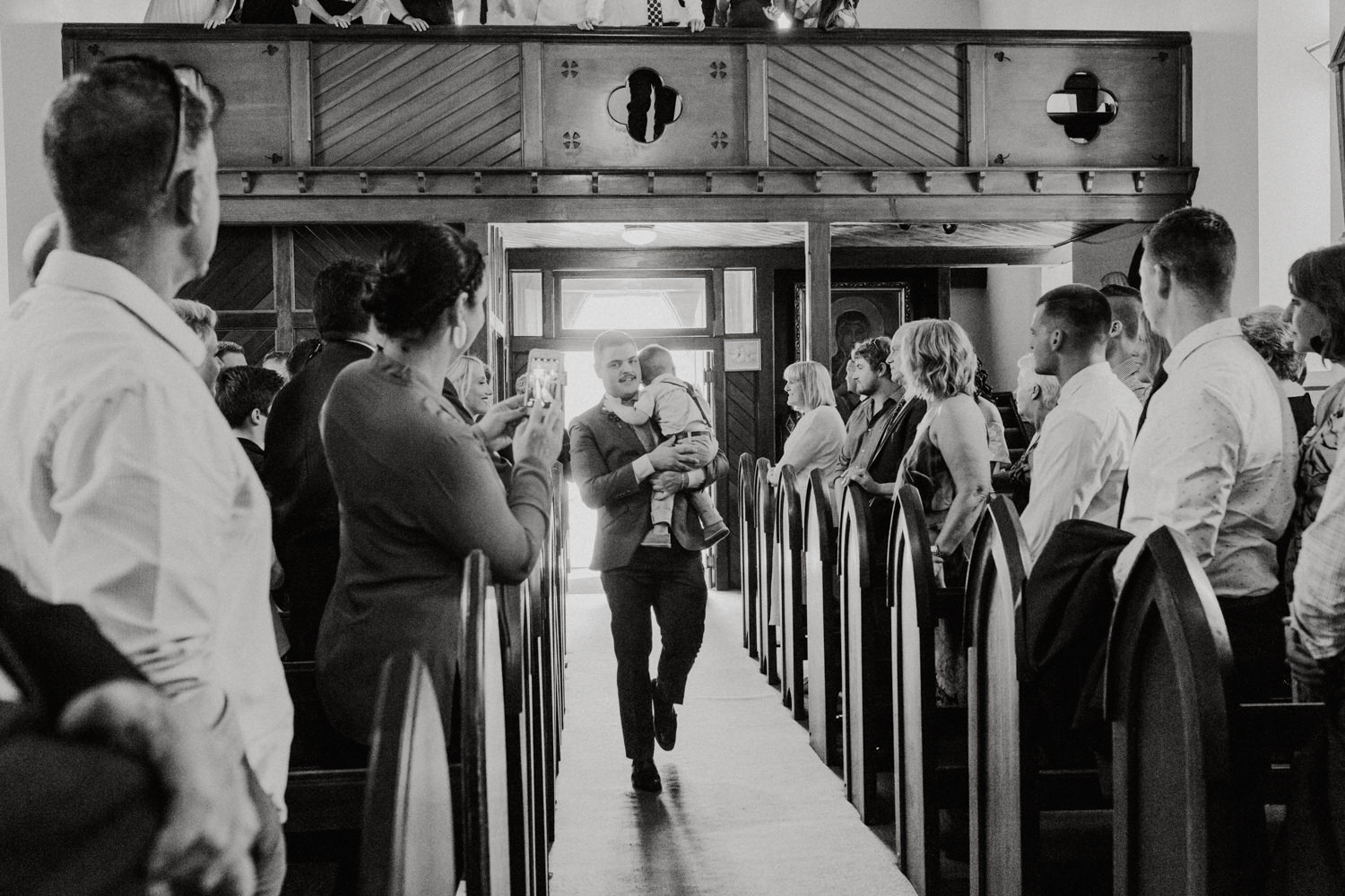 St Gregory's Church / Fitters Workshop Kingston Wedding Canberra Photography by Jenny Wu