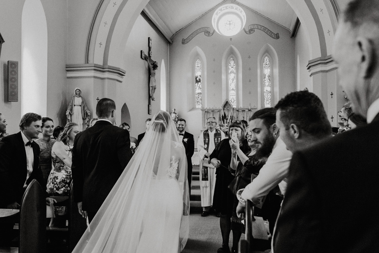 Fitters' Workshop Wedding Canberra, St Gregory's Church- photography by Jenny Wu Straight No Chaser Photography