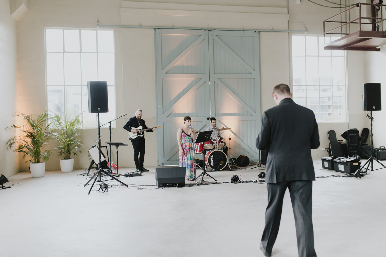 Fitters' Workshop Wedding Canberra - The Baker Boys Band- Photography by Jenny Wu Straight No Chaser Photography